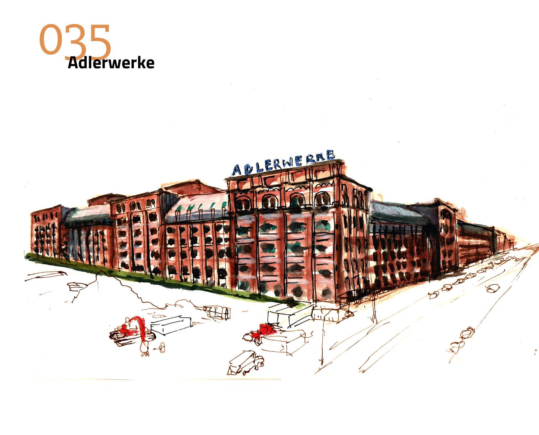 100 Häuser Frankfurt Adlerwerke